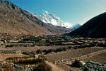 the valley of Chhukung with Lhotse