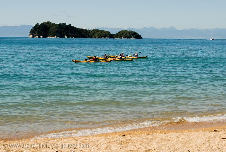sea kayaking, Abel Tasman National Park