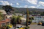 view over Picton's marina