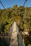 suspension footbridge, Abel Tasman Coastal Track