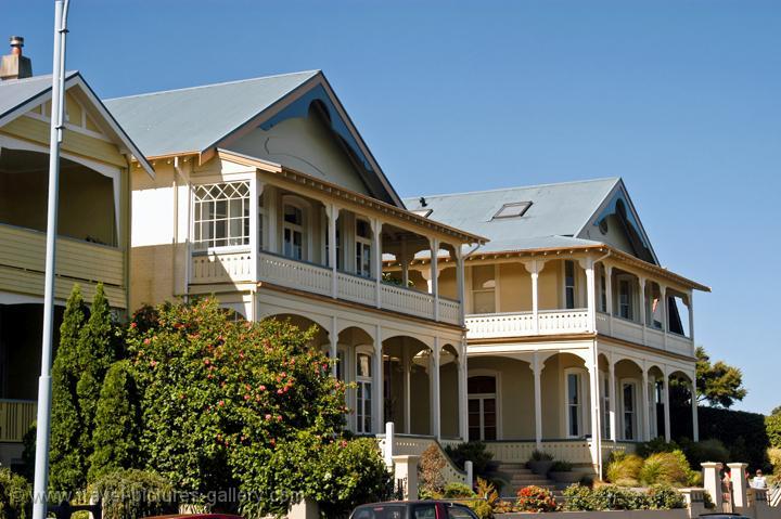 Pictures Of New Zealand Auckland 0030 Devonport Wooden