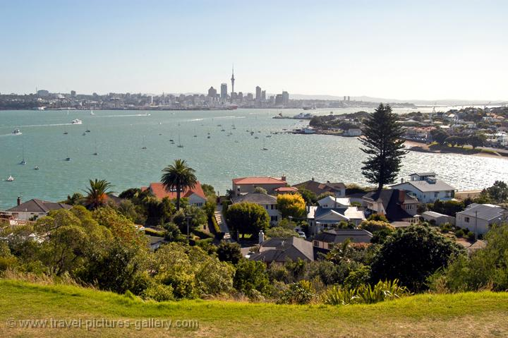 Auckland and Devonport from North Head