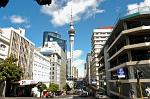 downtown Auckland with the Sky Tower
