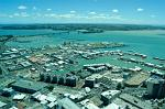 the harbour and Auckland Harbour Bridge
