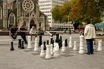 giant chess game, Cathedral Square