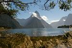 Mitre Peak in the morning, Milford Sound