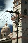 the Cathedral and electrical wiring, Granada