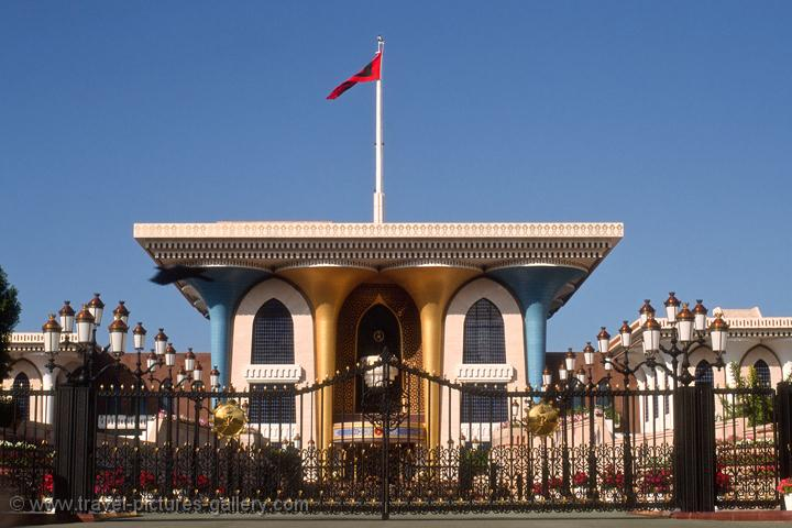 Oman - at the Sultan's Palace, Muscat