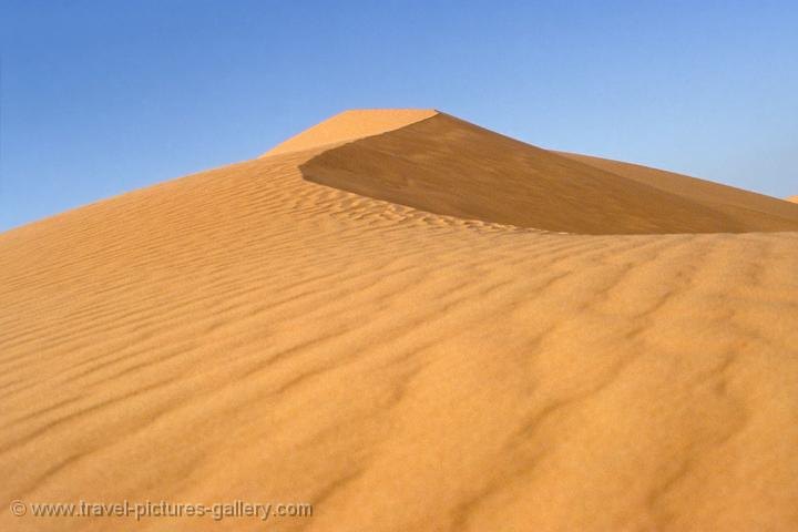 sand dunes, desert landcape