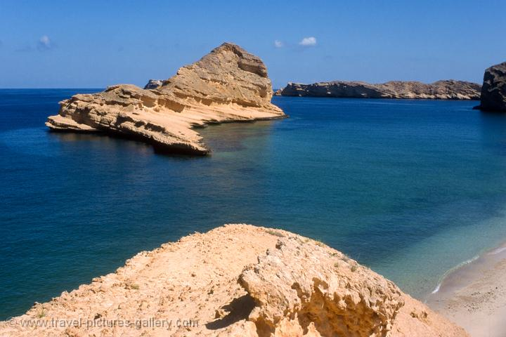 coastal scenery, Gulf of Oman