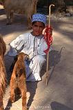 a boy goat herder, Nizwa market
