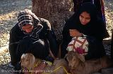 women with goats at Nizwa market