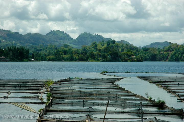 Travel Pictures Gallery Philippines 0042 Fish Farming At