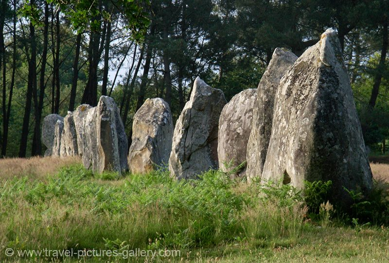France - Brittany - megalithic stone alignments of Carnac
