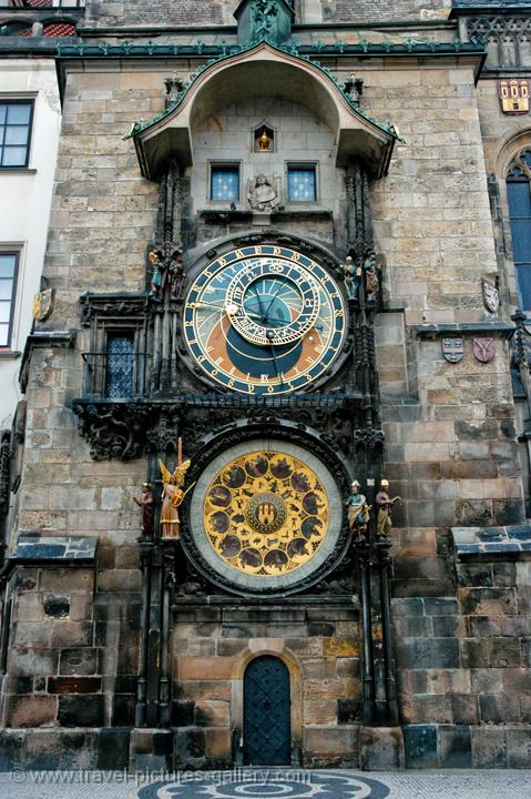 Travel Pictures Gallery Prague 0020 The Astronomical Clock And Calendar Old Town Hall