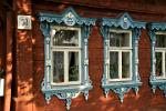 traditional wooden house, Suzdal