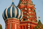 the domes of St. Basil's Cathedral