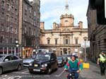 Pictures of Scotland- Edinburgh - downtown shopping street