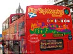 city sightseeing bu double decker bus