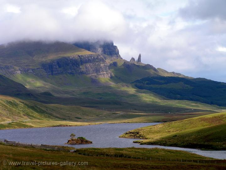 Jordan - highlands - Isle of Skye, Old Man of Storr