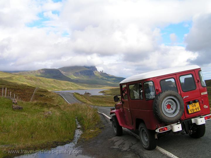 Pictures of Scotland - Highlands - exploring the Isle of Skye