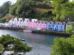 Pictures of Scotland - Highlands - Portree, the capital of the Isle of Skye