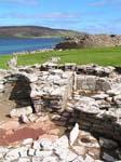 the Broch of Gurness, an Iron Age settlement