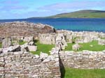 Pictures of Scotland - Orkney Islands - Broch of Gurness