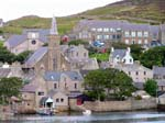 Stromness, church from the harbour
