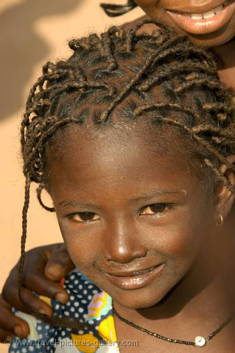 Pictures of Senegal - Country & People-0030 - little girl with