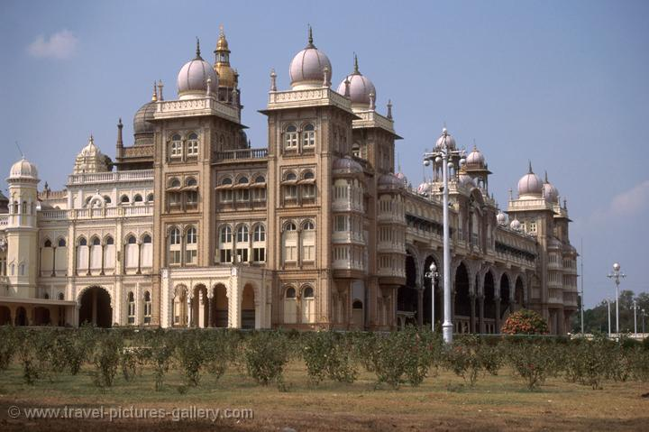 Mysore Palace is the seat of the famed Wodeyar Maharajas