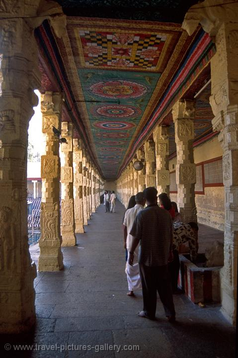 at the Sri Meenakshi Temple