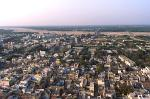 view over Trichy (Tiruchirappalli) from the Rock Fort