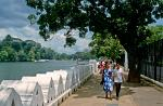strolling along Kandy Lake