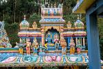 a richly decorated Hindu temple