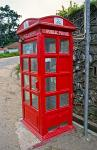 phone booth, British colonial era souvenir