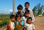 merry kids in Nuwara Eliya