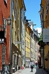 historic houses in Gamla Stan, the Old Town