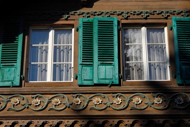 Decorated Window Traditional Architecture