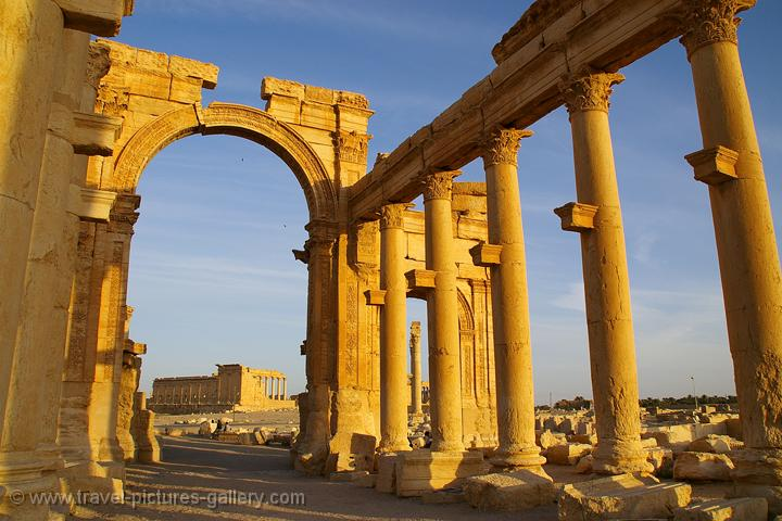 Jordan - syria - Palmyra, the ancient city, a Unesco World Heritage site