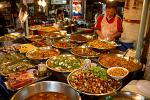 delicious Thai food at a street market