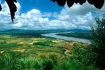 the Mekong River valley