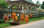young monks at work