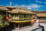 the Jokhang Temple, the most sacred and important temple in Tibet
