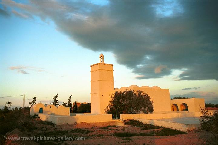 a Menzel, a traditional fortified homestead in Djerba