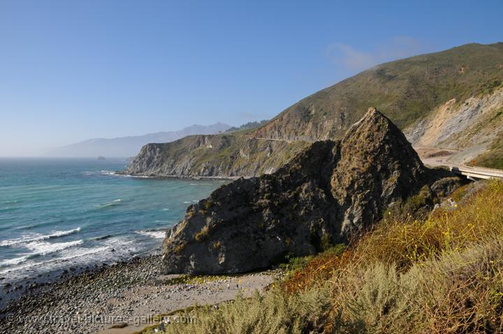 Pictures Of The Usa California Coast 0045 Big Sur Coastal Scenery Highway Nr 1