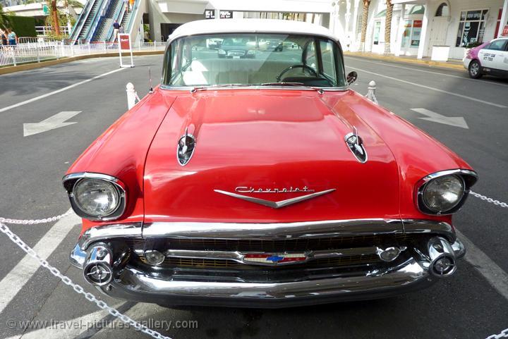 Chevy Las Vegas >> Pictures of Las Vegas-0074 - a 50's vintage Chevy