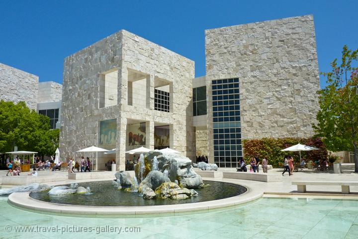 ... Los Angeles-0010 - the Getty Center, founded by oilman J. Paul Getty: www.travel-pictures-gallery.com/usa/los-angeles/los-angeles-0010.html