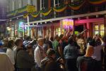 people in Bourbon Street, French Quarter