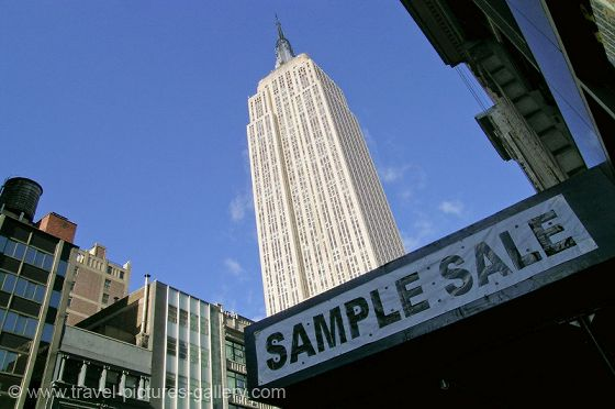 Usa new york the empire state building the world famous new york